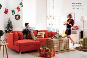 Màu đỏ đáng yêu, đầy nhiệt huyết của Sofa giường đa năng cao cấp