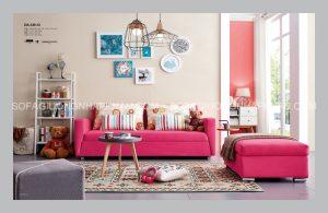 Vải bọc của Sofa giường cao cấp phải tinh tế, sắc nét