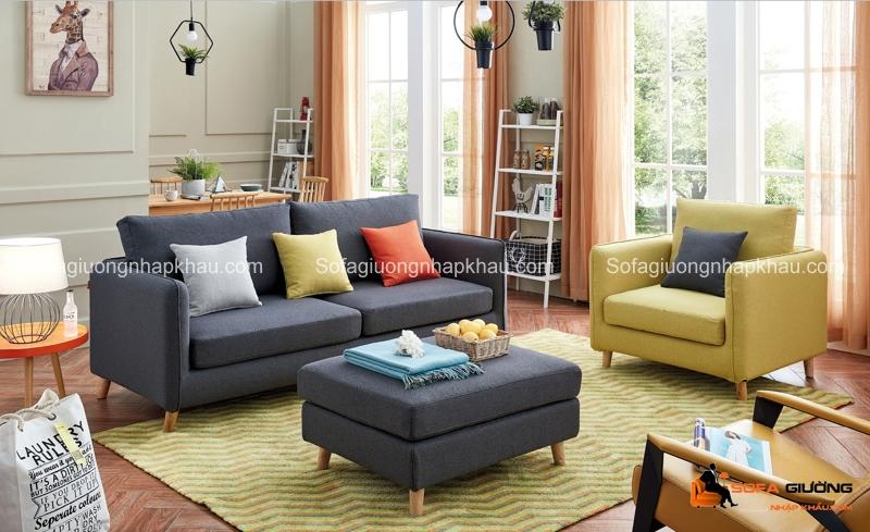 Chất liệu của các phần tạo nên sofa giường chính là yếu tố quan trọng nhất quyết định giá sofa giường