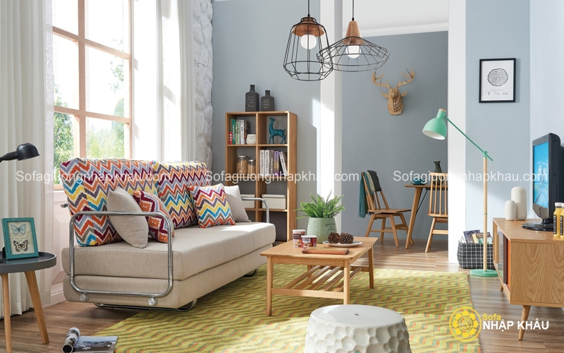 Sofa giường đa năng - cái tên đã nói lên sự thông minh hiện đại của sản phẩm nội thất này