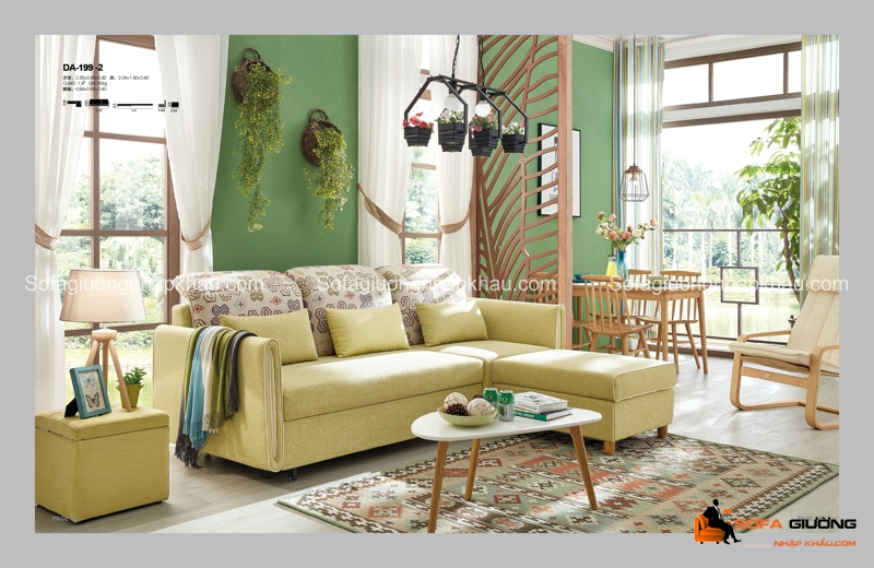 Bức tường màu xanh tạo điểm nhán tuyệt vời và mang đến cảm giác mát mắt trong trang trí nội thất