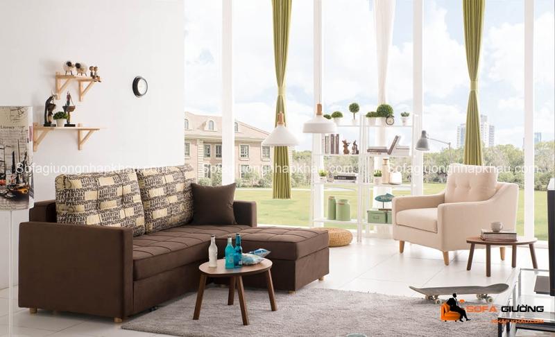 Sofa giường hiện đại cho phòng khách nhỏ