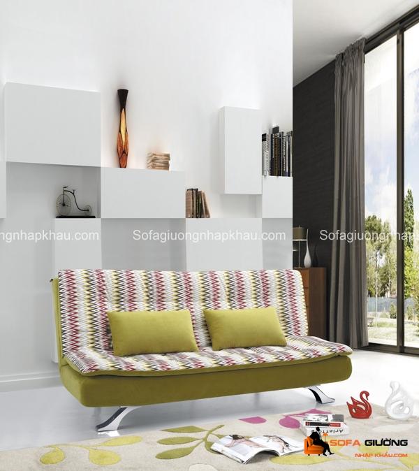 Phòng khách nhỏ nên ưu tiên những chiếc sofa giường đi văng