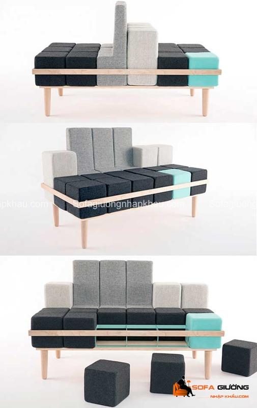 Thật thú vị biết mấy khi chúng ta có thể thay đổi hình dáng của chiếc ghế sofa