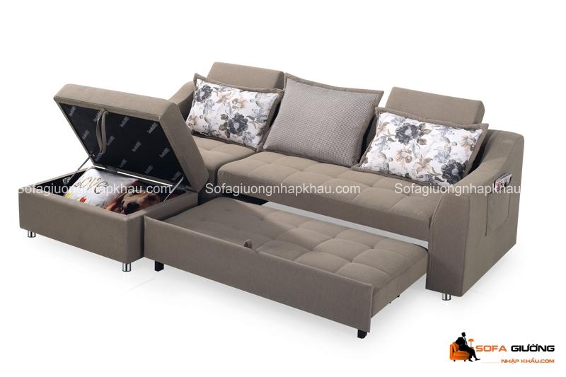 Mua sofa giường có ngăn đựng đồ tiết kiệm diện tích cho ngôi nhà